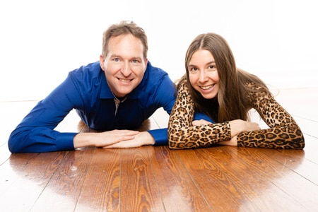 Mark und Eileen - Dozenten für Abendworkshops im Shingon Institut